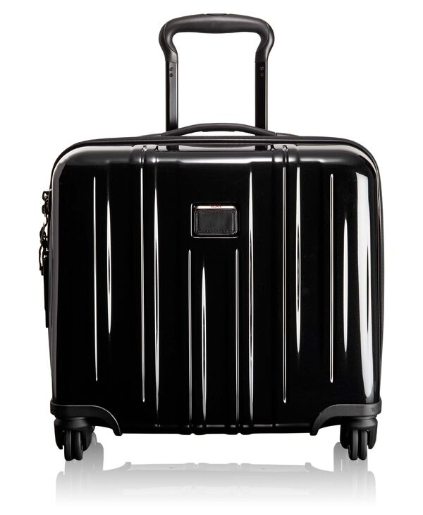 TUMI V3 Compact Carry-On 4 Wheeled Briefcase
