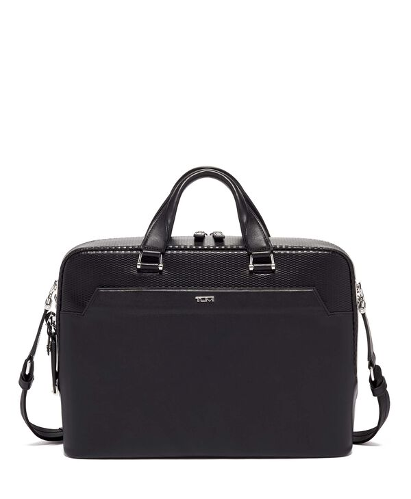 Ashton Gibson Slim Brief Leather