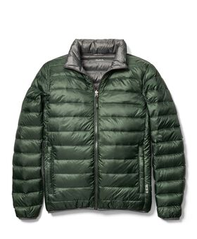 Patrol Reversible Packable Travel Puffer Jacket S Tumi PAX Outerwear