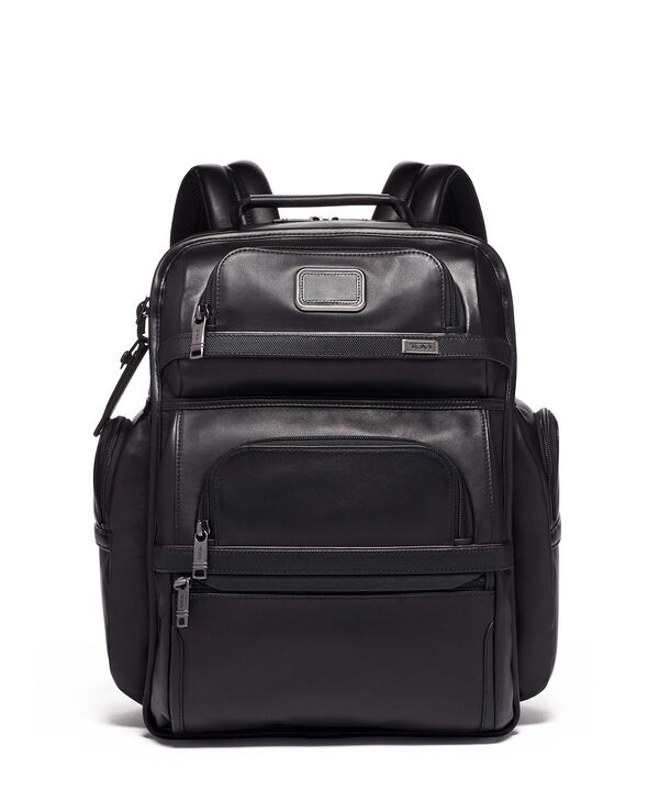 Alpha 3 TUMI T-Pass® Business Class Brief Pack® Leather