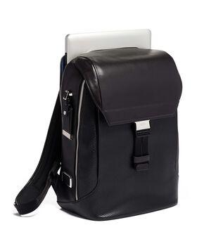 Dolton Flap Backpack Leather Ashton