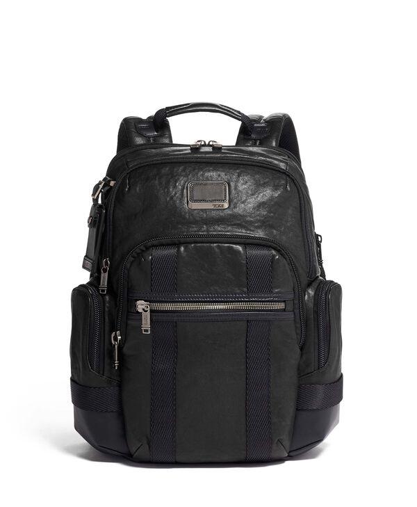 Alpha Bravo Nathan Backpack Leather