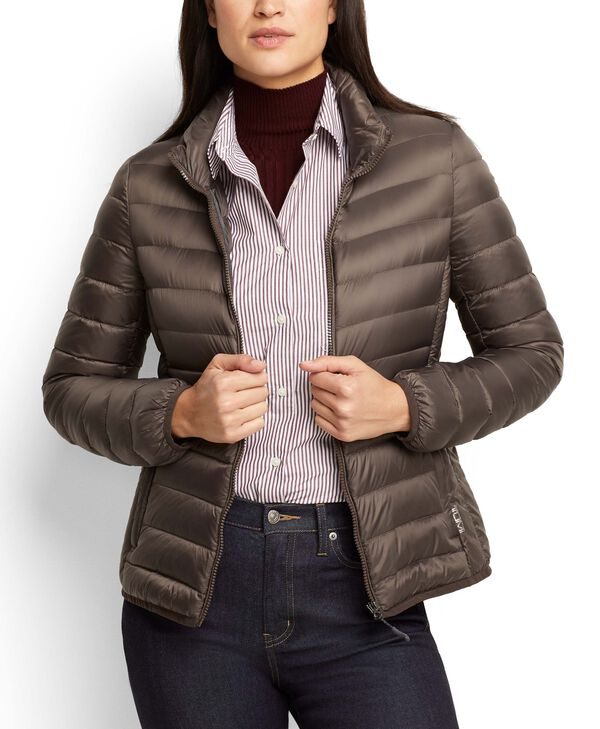 Tumi PAX Outerwear Women's - Clairmont Packable Travel Puffer Jacket M